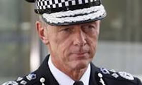 The Metropolitan Police Commissioner, Sir Bernard Hogan-Howe
